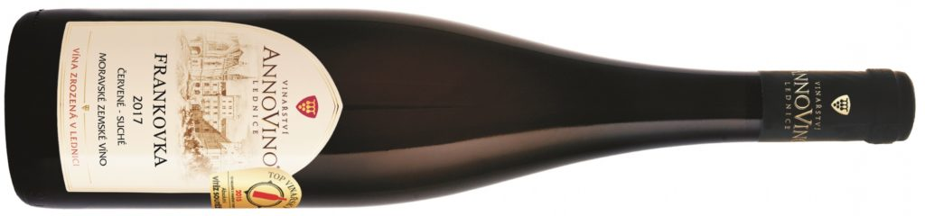 FRANKOVKA - suché -  červené